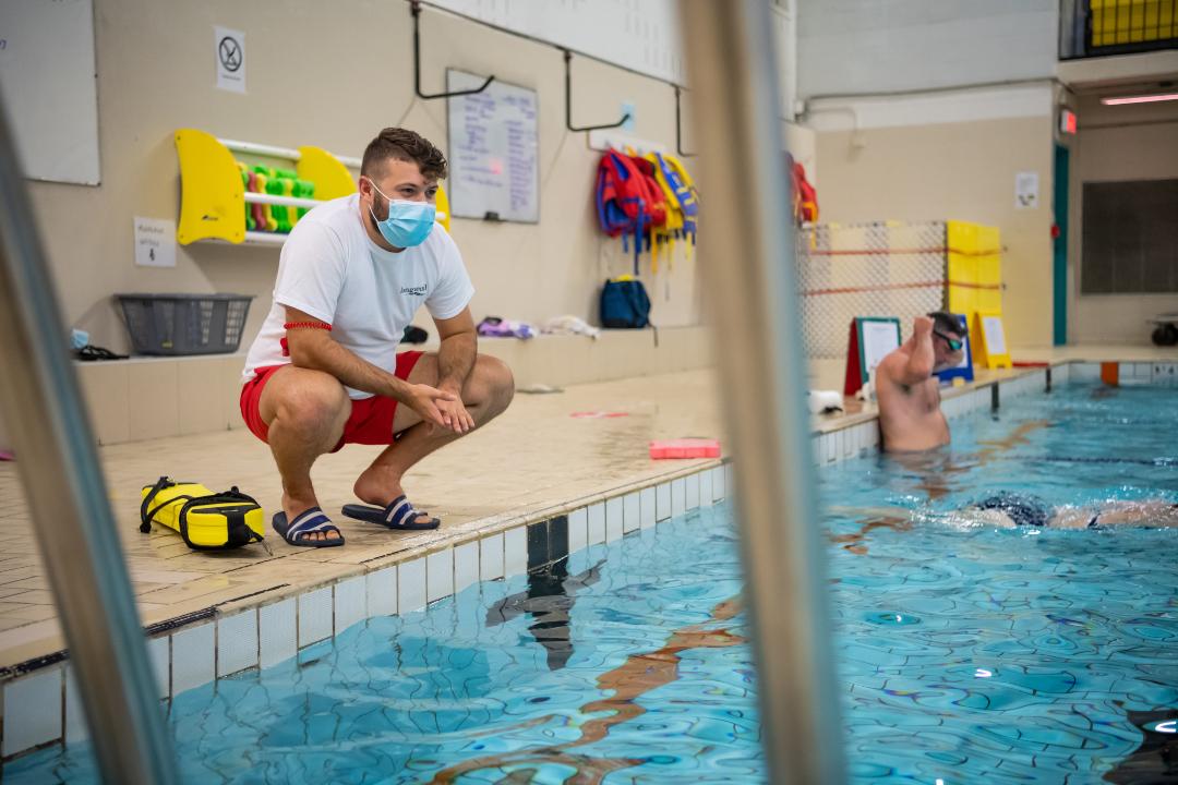 Activités aquatiques et de natation