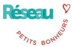 Logo réseau petits bonheurs