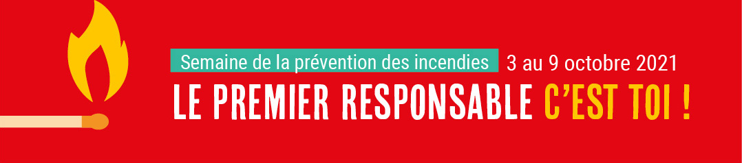 Semaine prévention incendie 2021
